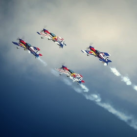 The Flying Bulls 4x XtremeAir XA-42