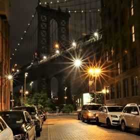 Ulice New Yorku - Manhattan Bridge