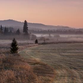 ráno na blatech