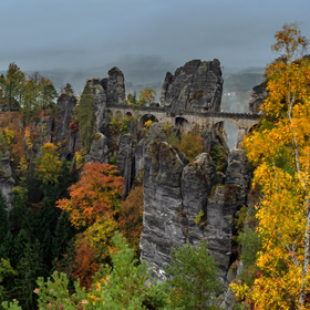 Bastei in colors