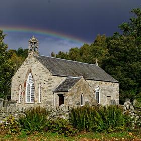 opusteny kostolik