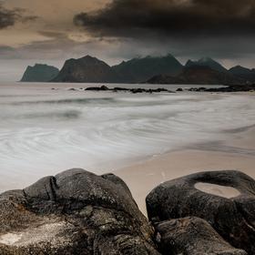 Storsandnes Beach_2_Lofoty_Norsko