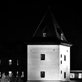 Malostranská vodárna - noční foto