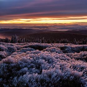 Ledové království na Břidličné hoře