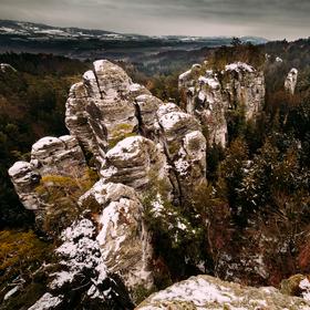 Vyhlídka u Lvíčka, Hruboskalsko, Český ráj