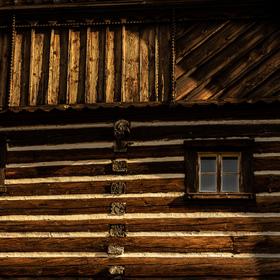 Dřevo a sklo
