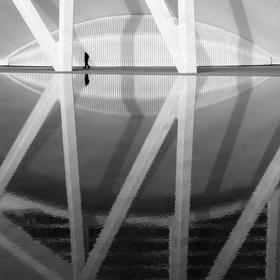 Osamělý chodec