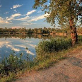 Letný rybník