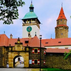 U hradu Bouzov