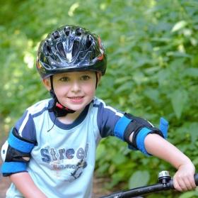 Malý ciklista.