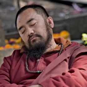 Spící Budha