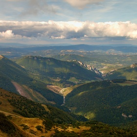 Cez kopce a doliny...
