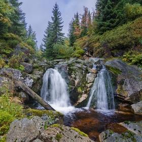 podzimní vodopadání