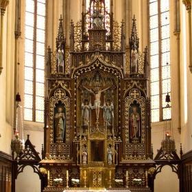 oltář...