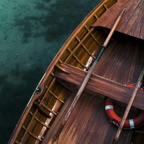 Loďka z Lago di Braies