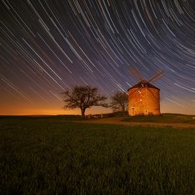 Větrný mlýn Kunkovice  III
