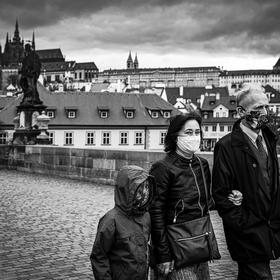 Rodinka z Karlova mostu