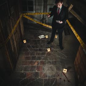 Noční vyšetřování vraždy