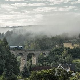 Železniční viadukt Smržovka