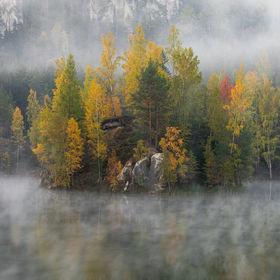 Adršpach - jezero Pískovna II