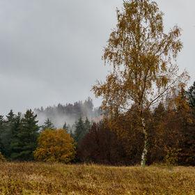 ponurá podzimní