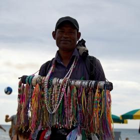 Plážový prodavač