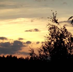 Když jde slunce spát... :)