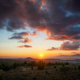 Řecký západ slunce