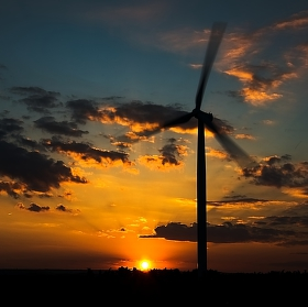 ještě jedná od větrných elektráren :)