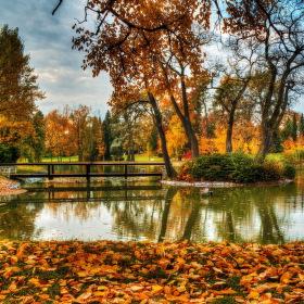 Zámecká zahrada v Lánech