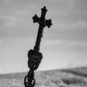Kříž v poli