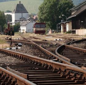 Opuštěné nádraží