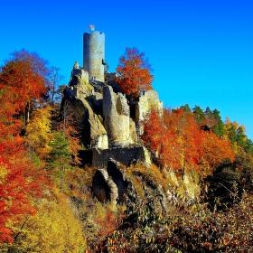 Krajina s hradem