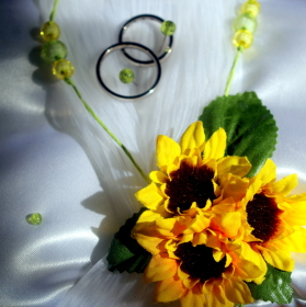 První focení svatby