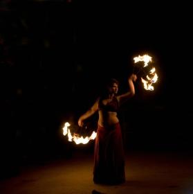 Ohňová šou - Diwali - svátek světel v Údolí slonů ZOO Praha