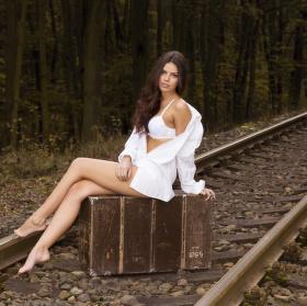 Dlouhé čekání na vlak...