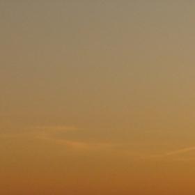 ostrý zapad slunce