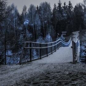 Most v závoji
