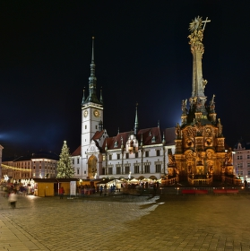 Vánoční atmosféra v Olomouci