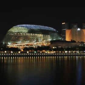Singapur - Esplanade Theatres ( Marina Bay)