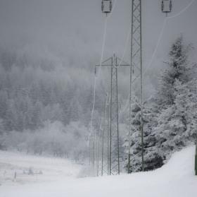 Zima na Lesný