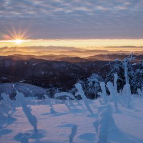 ranní západ na konec roku...
