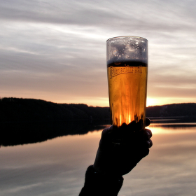 Slunce v pivu...
