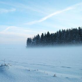 Začínající mlha