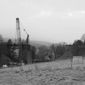 Holubovský viadukt - likvidace technické památky