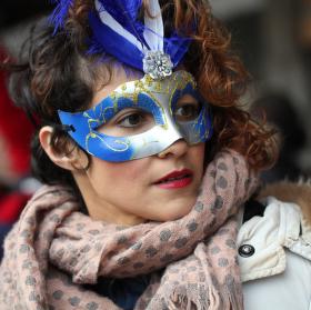 Maska benátského karnevalu