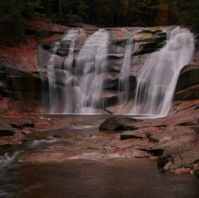 Vodopády Mumlava