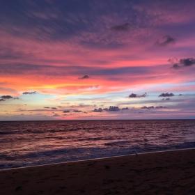 Waikkal západ slunce