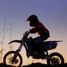 Malý motokrosař