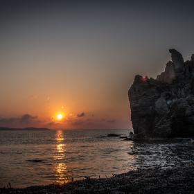 Východ slunce na Vai